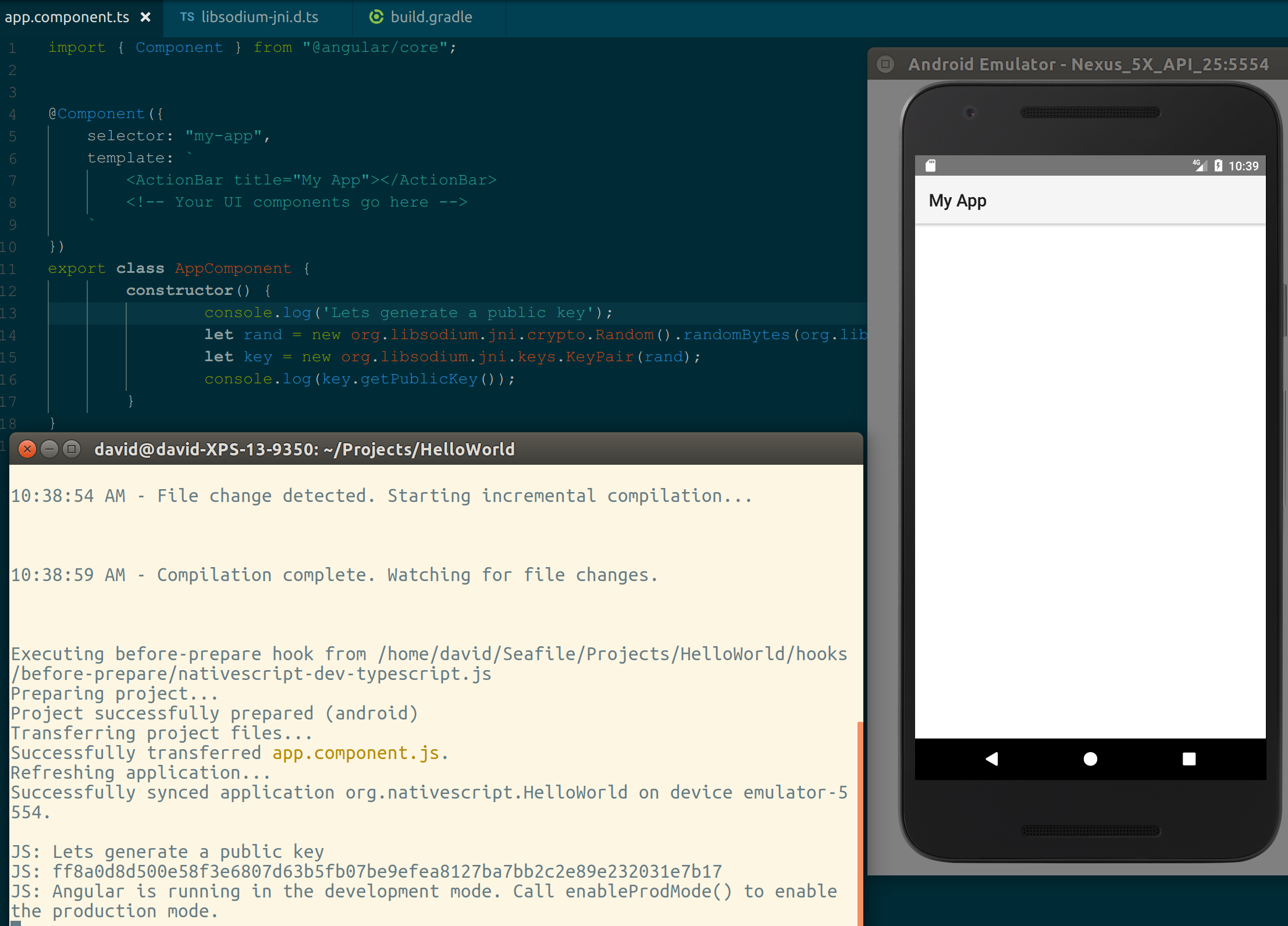 Using libsodium in Android and NativeScript  – Technology Against You
